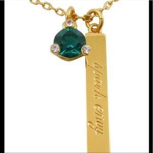 Kate Spade New spark envy necklace